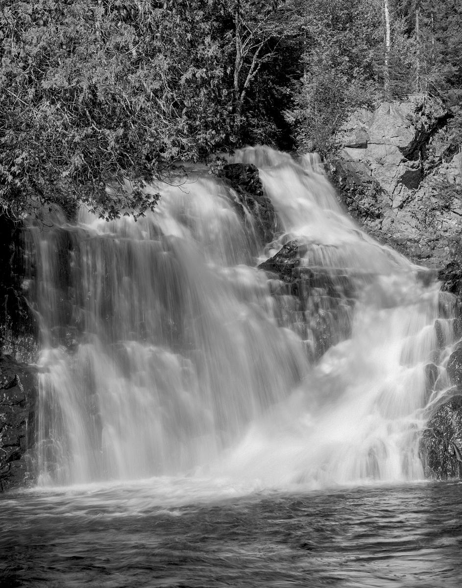 Archambault waterfall